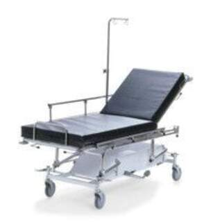Tvådelad akut och patientvagn