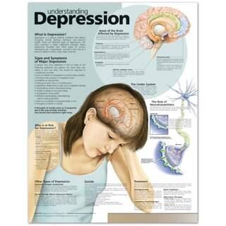 Depression verstehen Englisch laminiert (Depression verstehen)