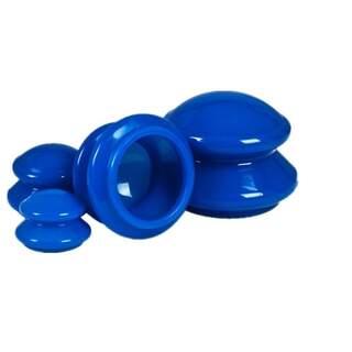 Silikonbecher für cupping 4er Pack