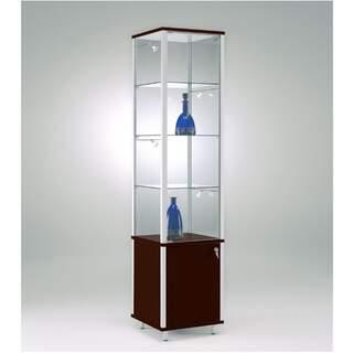 Exclusive - Produktregal Limousine aus Glas / Holz