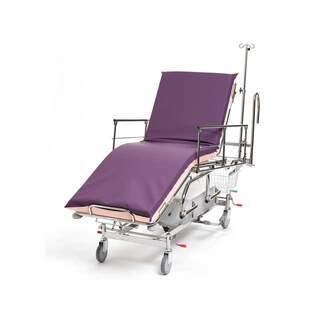Patienten- und Notfallwagen 3-teilig, hydraulisch, Steuerhebel